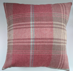"Cushion Cover in Next Stirling Red Check Tartan 14"" 16"" 18"" 20"""